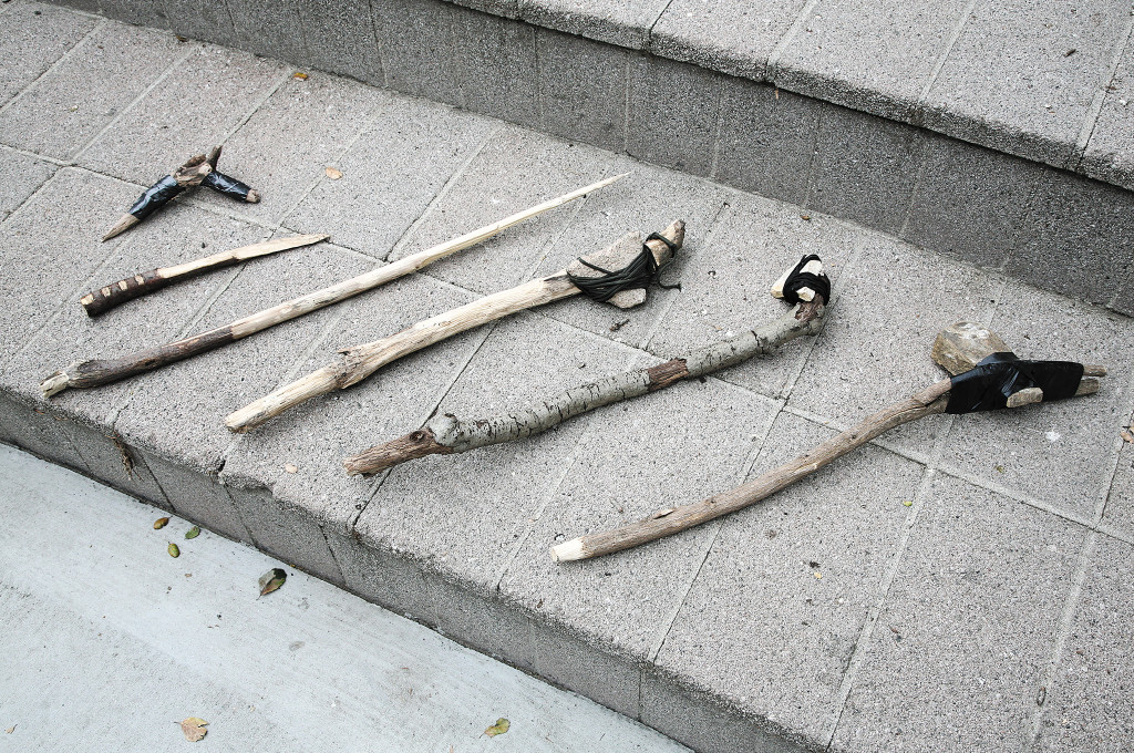 Improvised weapons may not look like much, but they can be just as effective as a purpose-built implement.