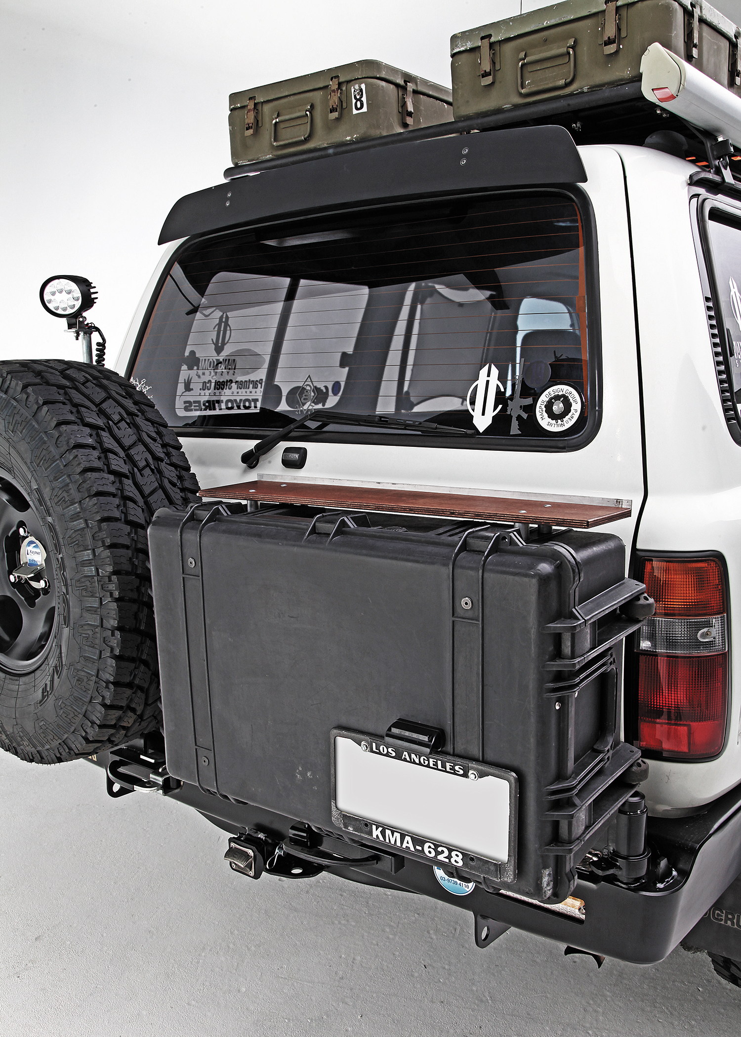1994 Toyota Land Cruiser Off Grid Rig Recoil Offgrid