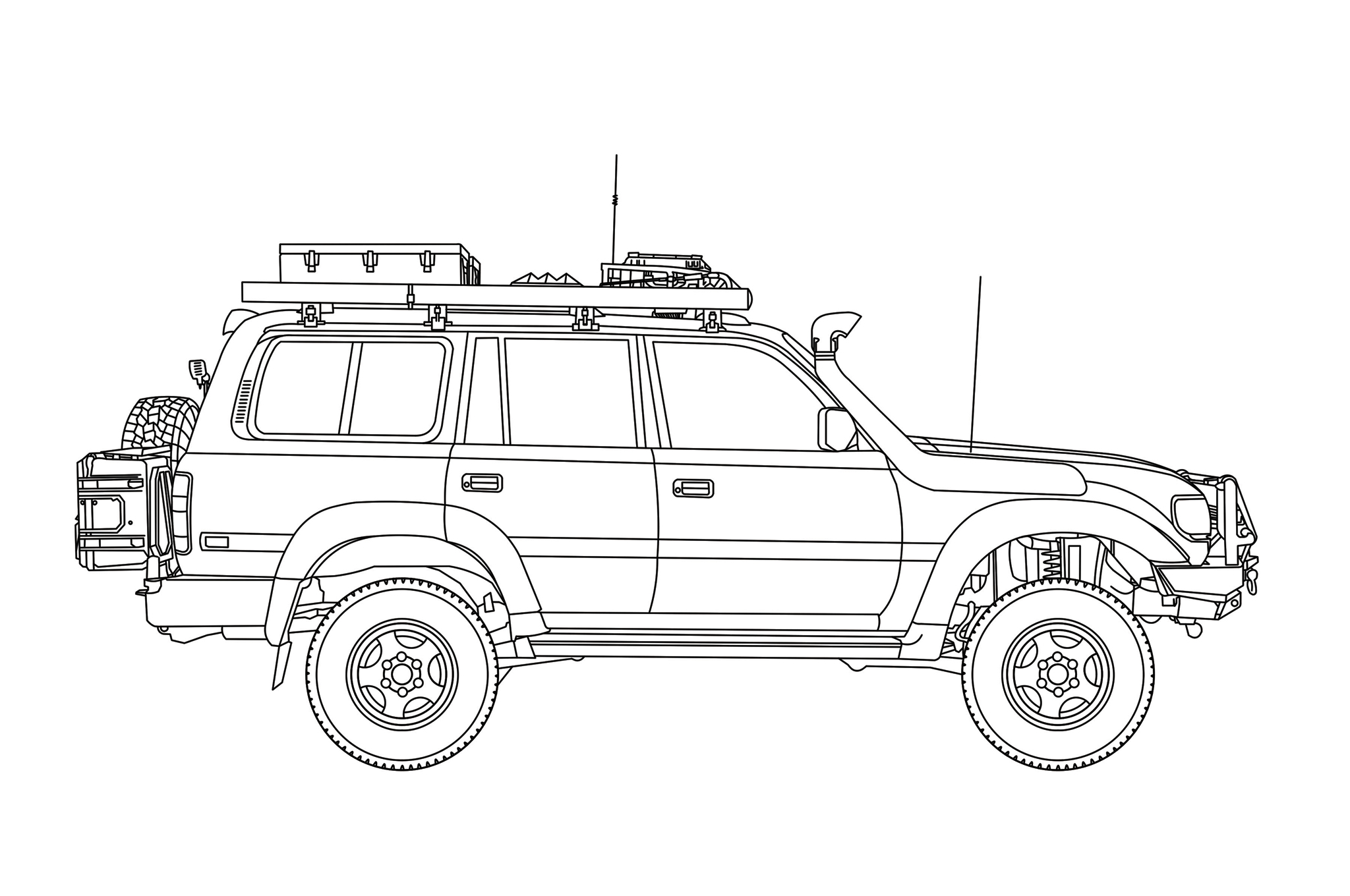1994 Toyota Land Cruiser - Off-Grid Rig | RECOIL OFFGRID