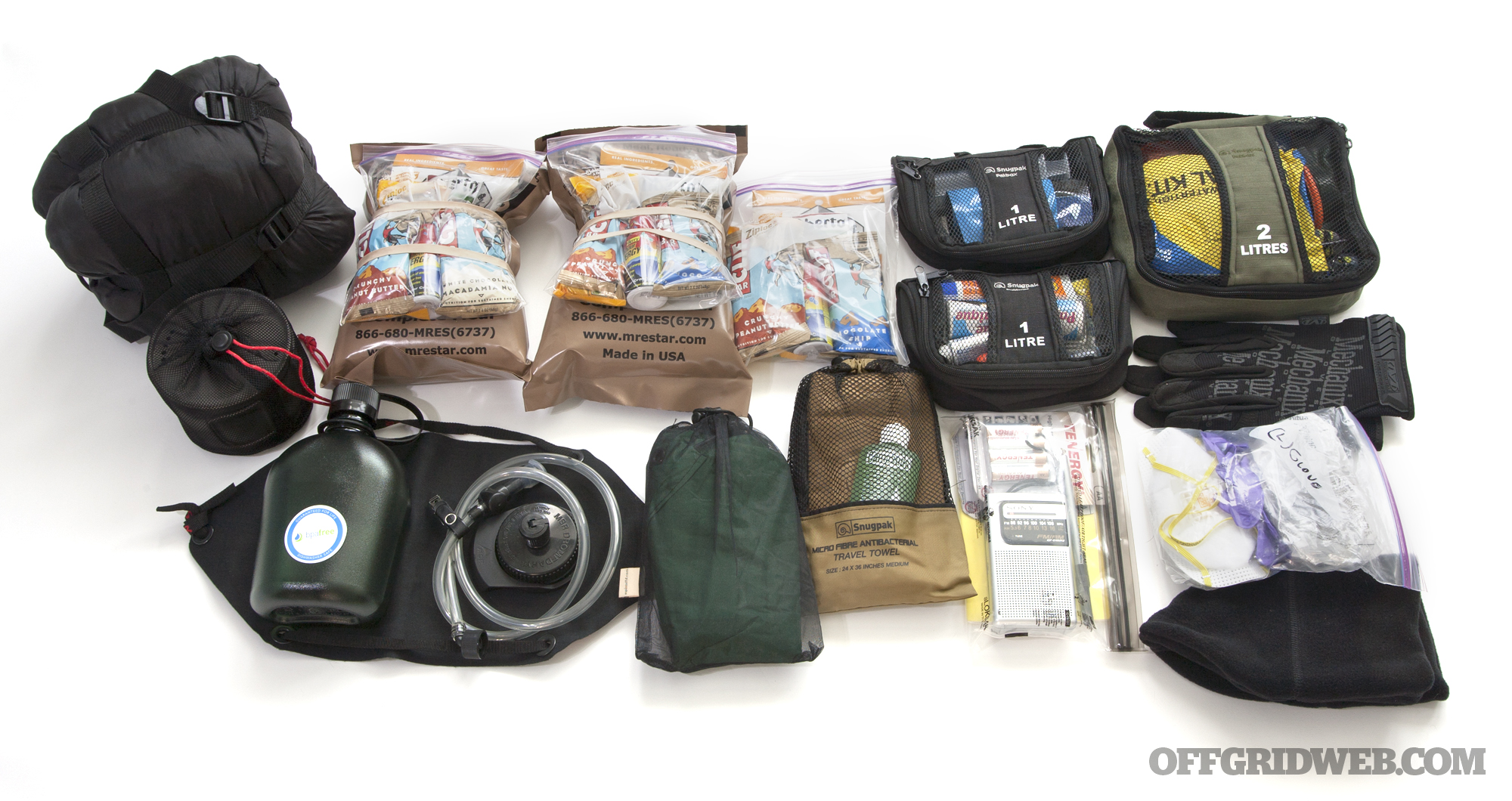 Zyon Systems Professional Pack Bug Out Bag 22