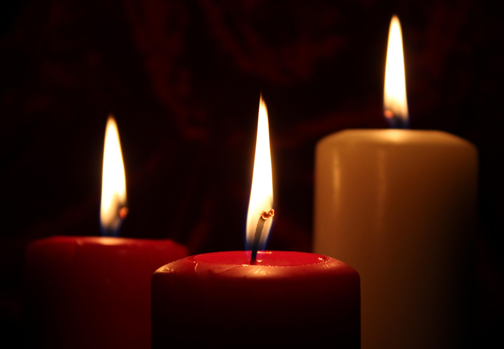 Candles are one of the most common sources of residential fires.