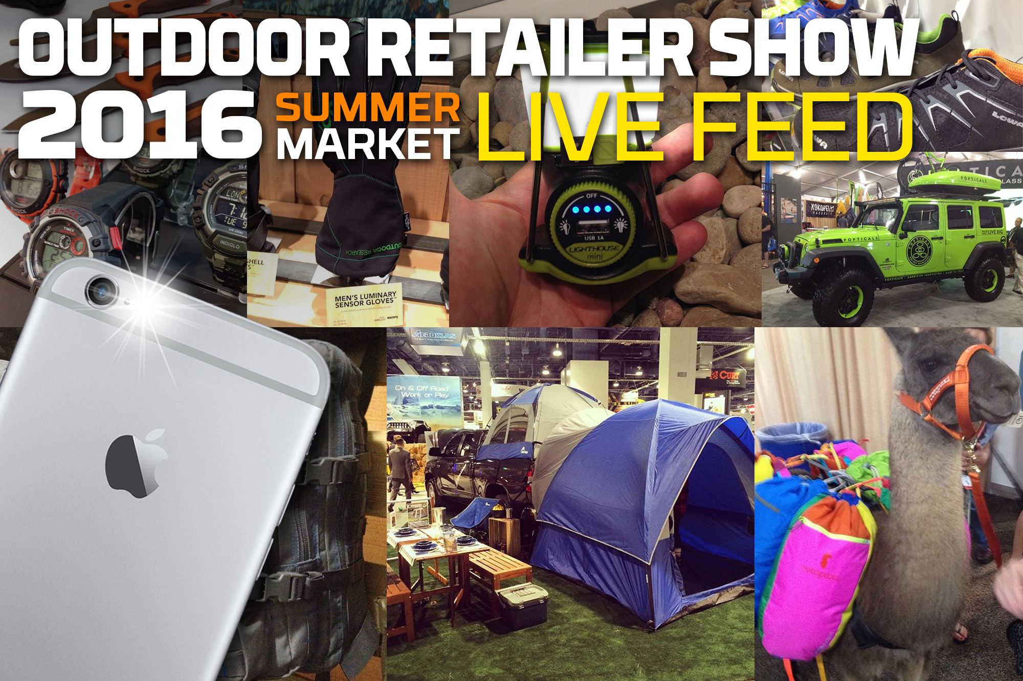 Outdoor Retailer Summer Market 2016 lead image