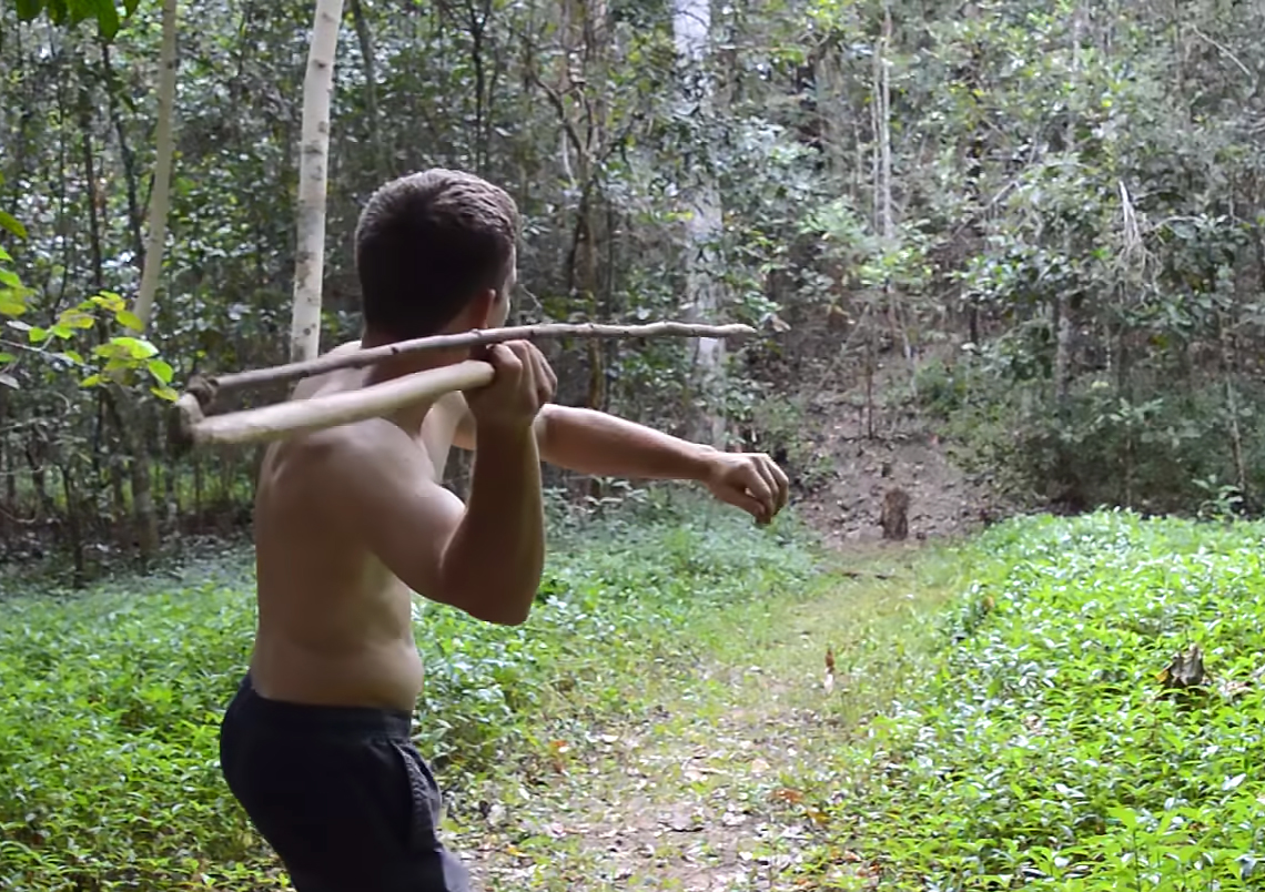 Primitive technology spear thrower 3