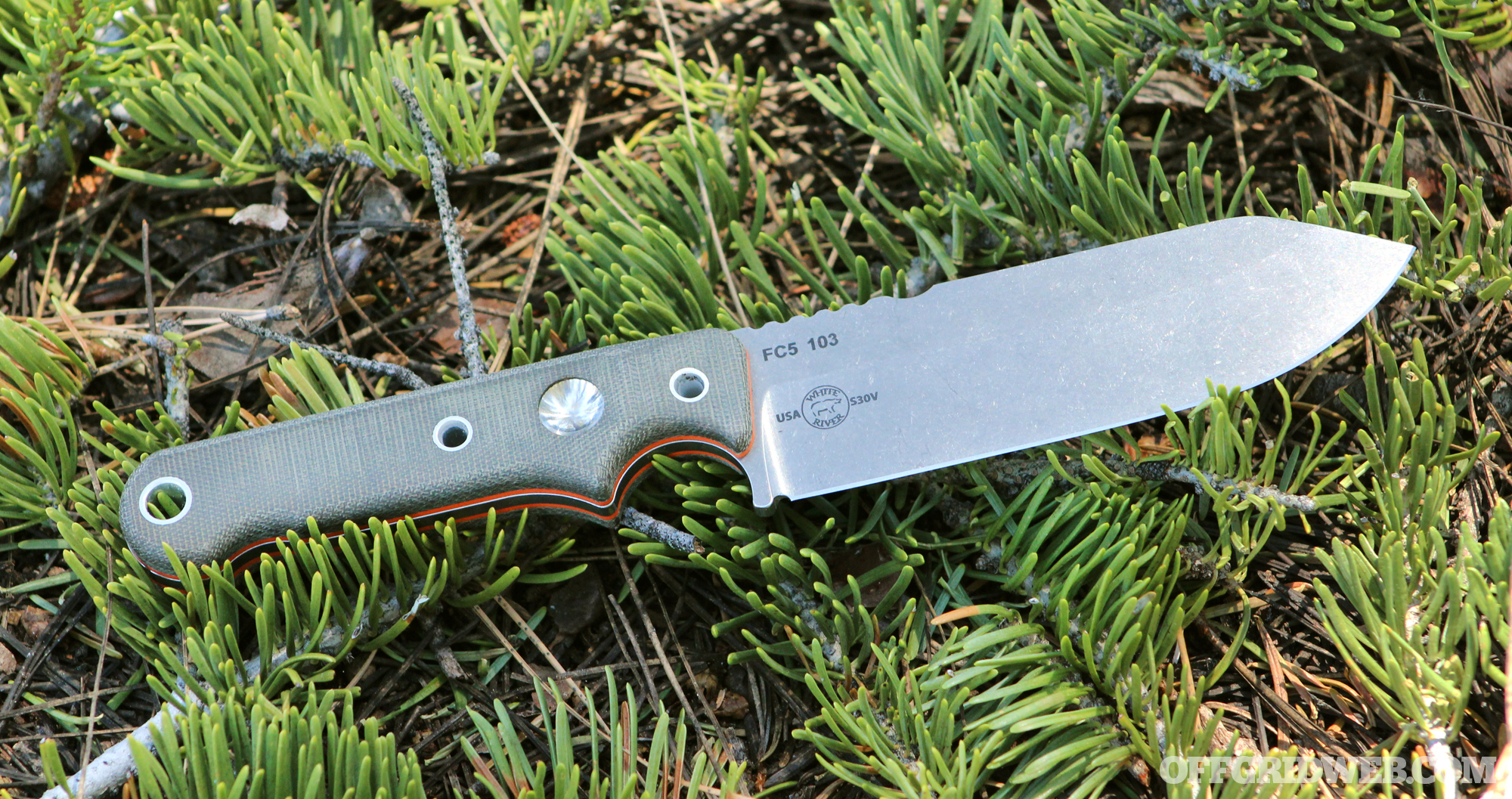 White River Firecraft FC5 knife review 23
