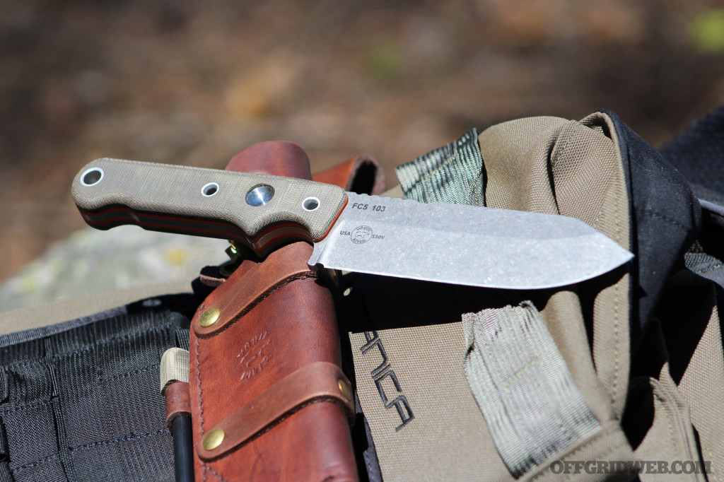 White River Firecraft FC5 knife review 26