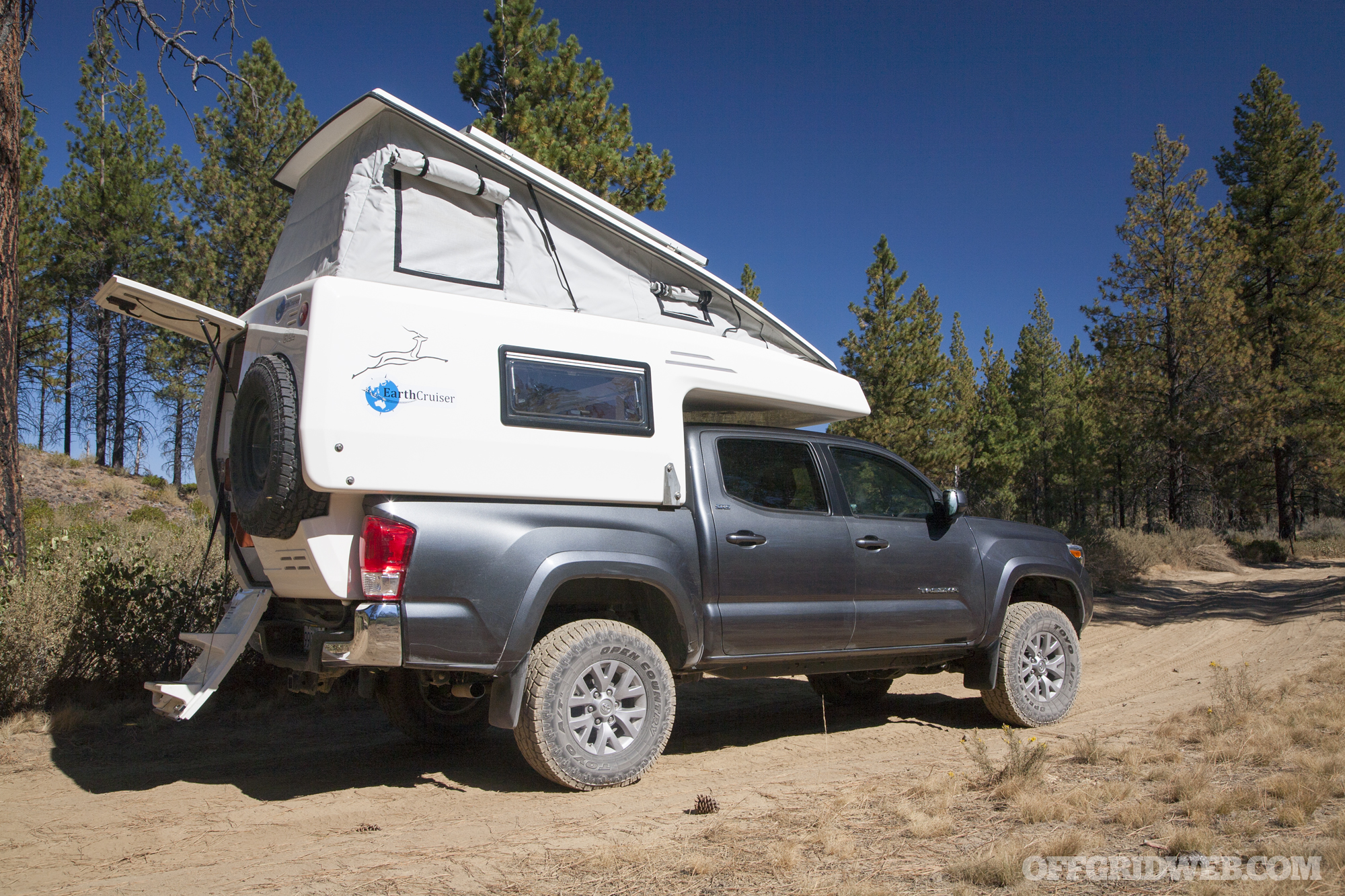 Feature Earthcruiser Gzl Truck Camper Recoil Offgrid Ford Raptor With S Rv Vehicle 20