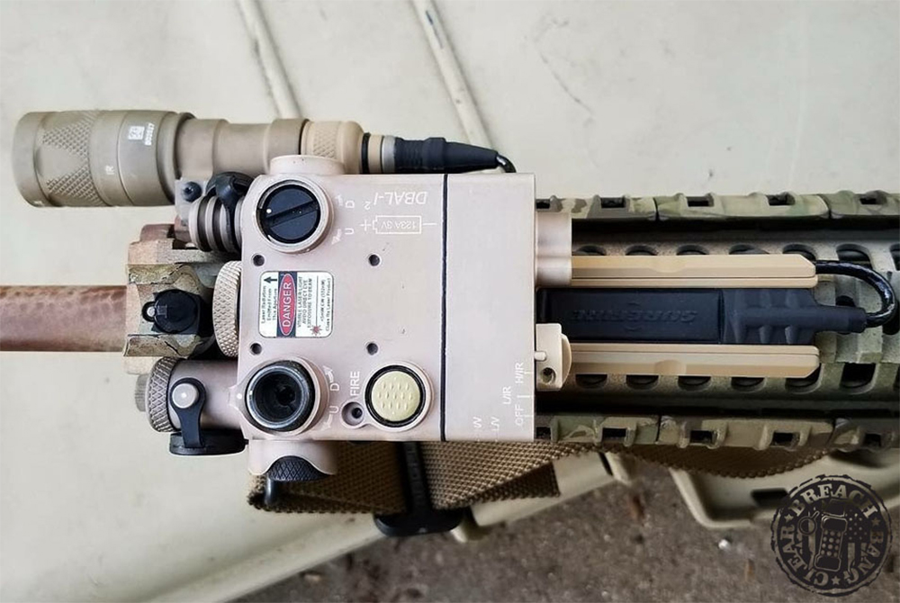 Rifle flashlight weapon mounted light AR carbine gun 4