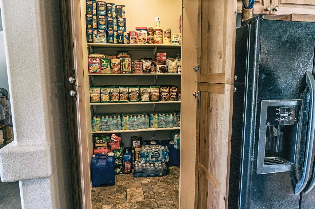 Remember that purchasing a bug-out property is only the first step. Stocking it with enough food and water to sustain your entire family will quickly become important. Food storage should be based on caloric intake.