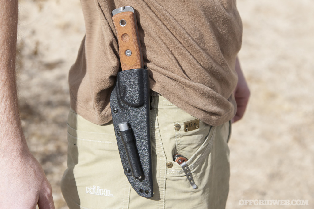 TOPS MSF 4 and Fieldcraft bushcraft knives review 02