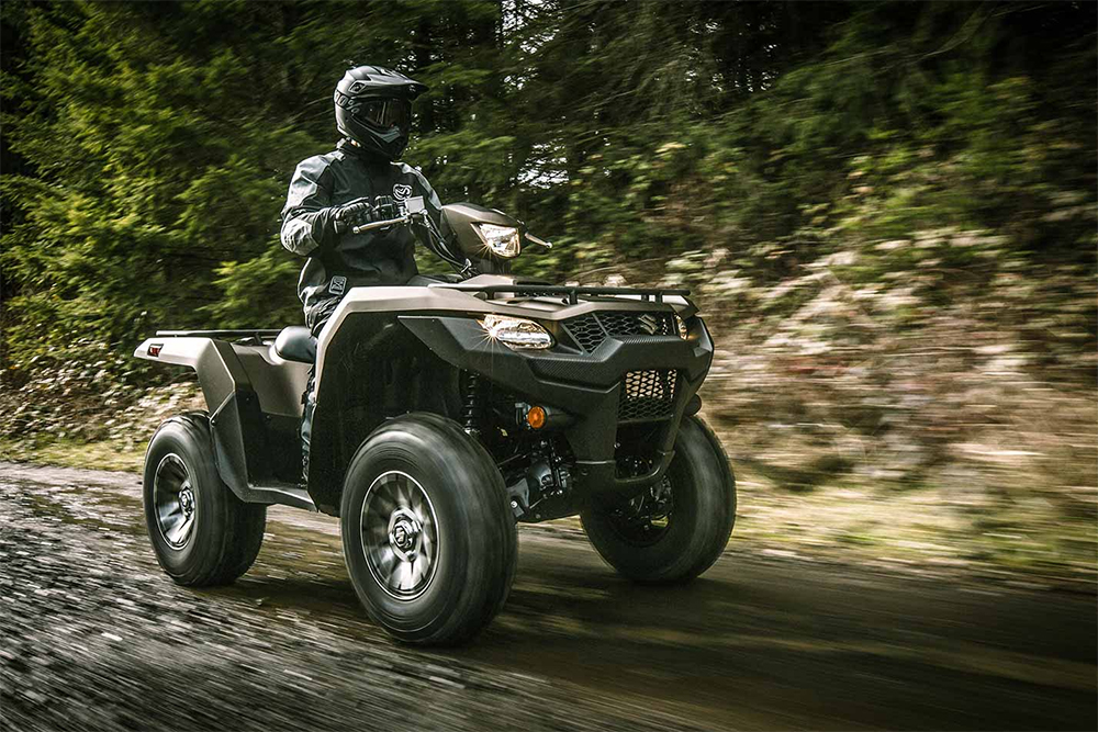 Suzuki KingQuad ATV offroad vehicle truck motorcycle bugout 1