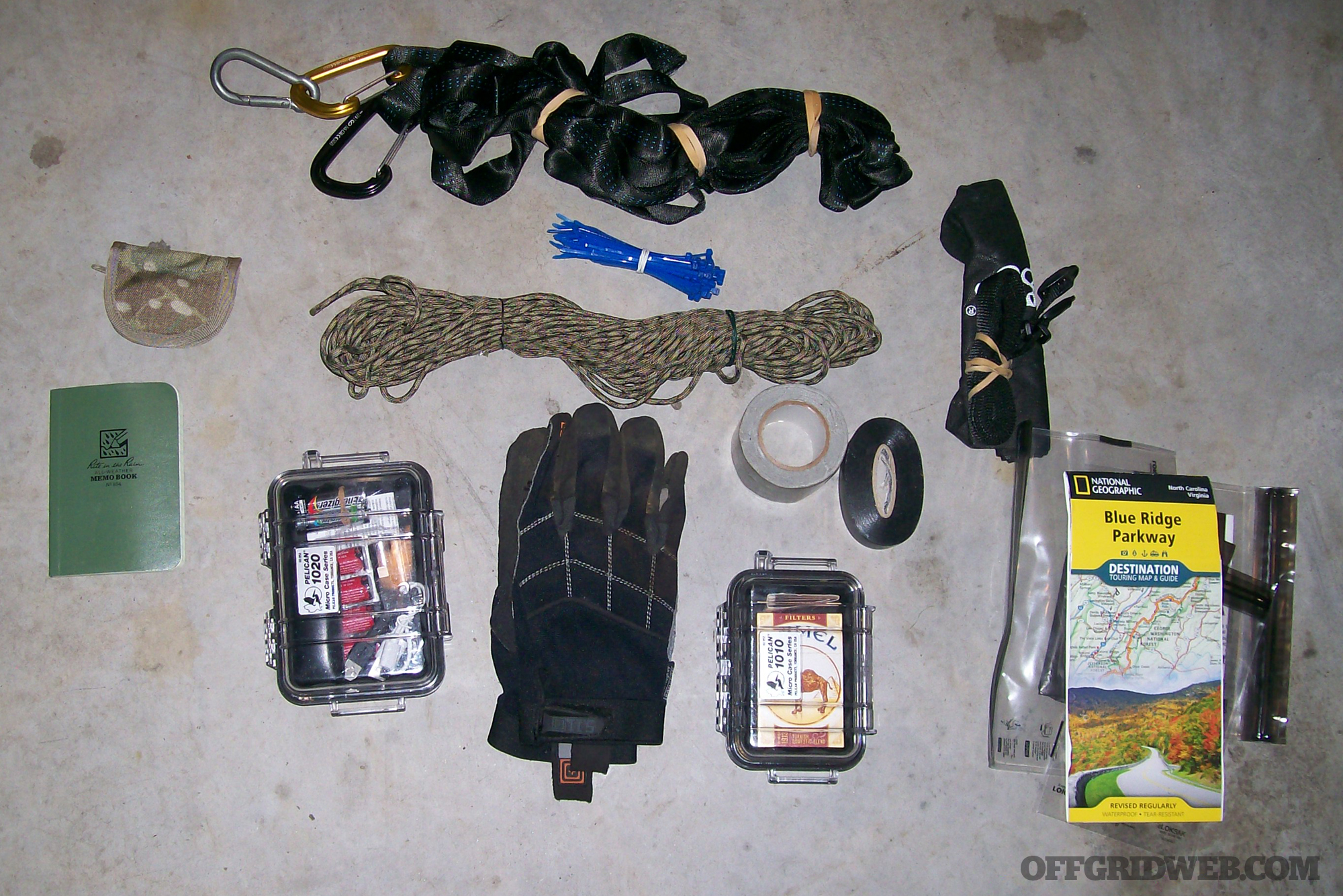 Russ Hobgood go bag loadout survival gear bug out backpack shtf hiking 3