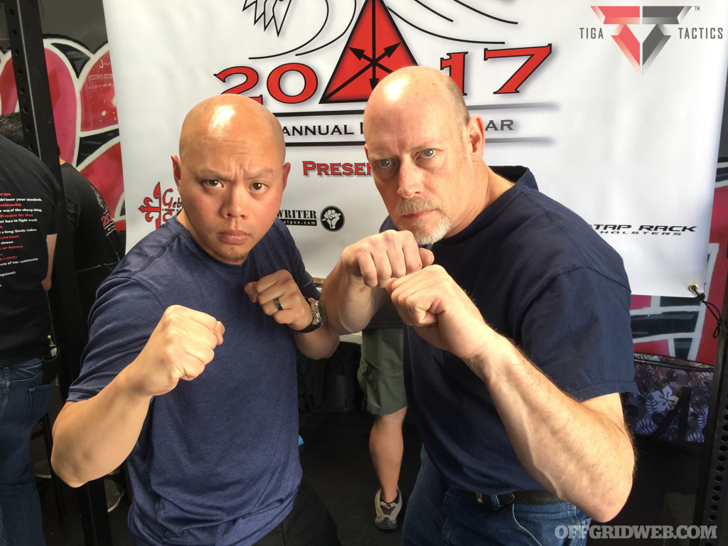 With personal-defense instructor and edged-weapons specialist Michael Janich