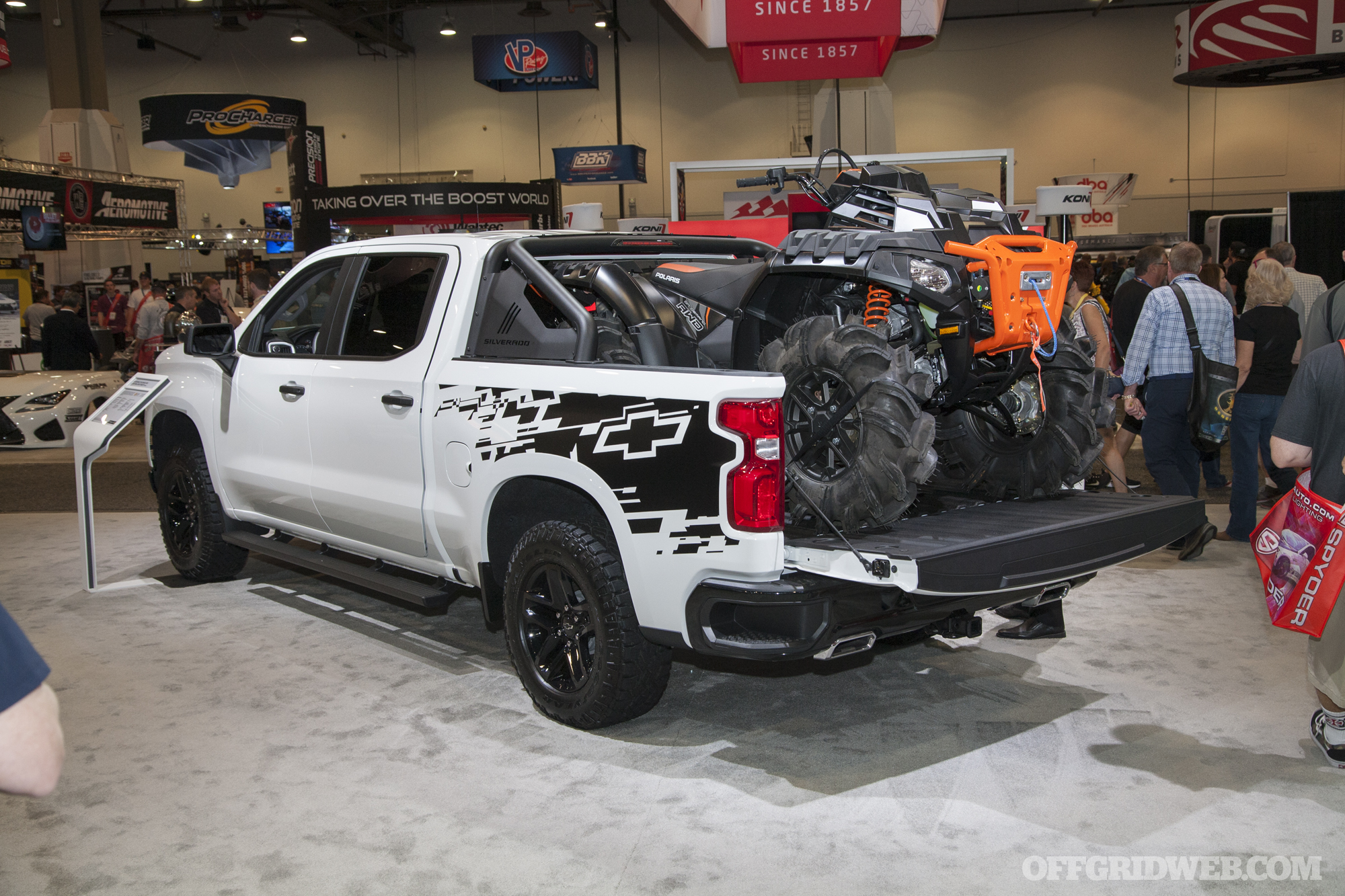 SEMA 2018 gallery Chevrolet trucks off road vehicles bugout survival 72