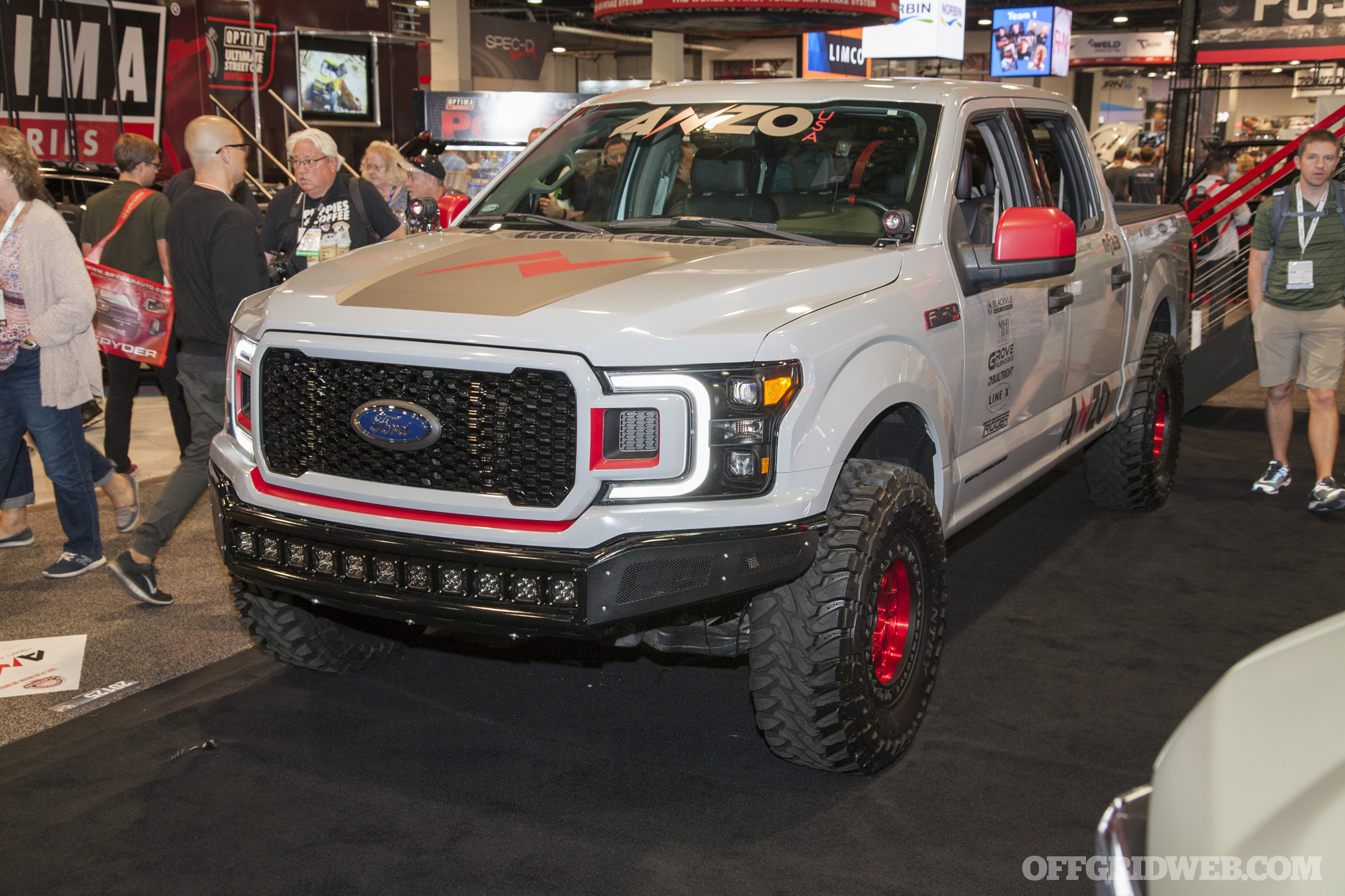 SEMA 2018 gallery Ford trucks off road vehicles bugout survival 17