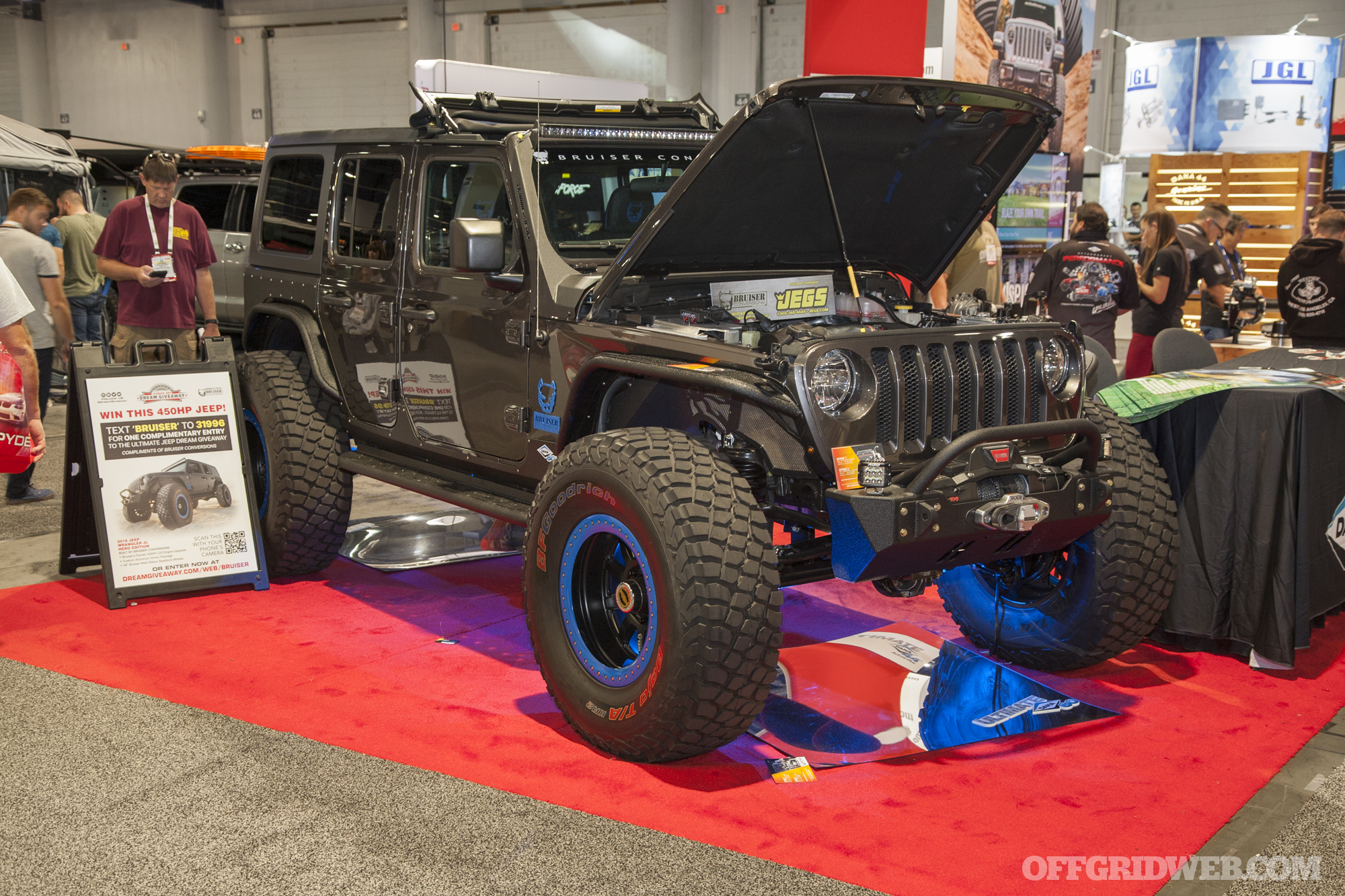 SEMA 2018 gallery Jeep trucks off road vehicles bugout survival 56