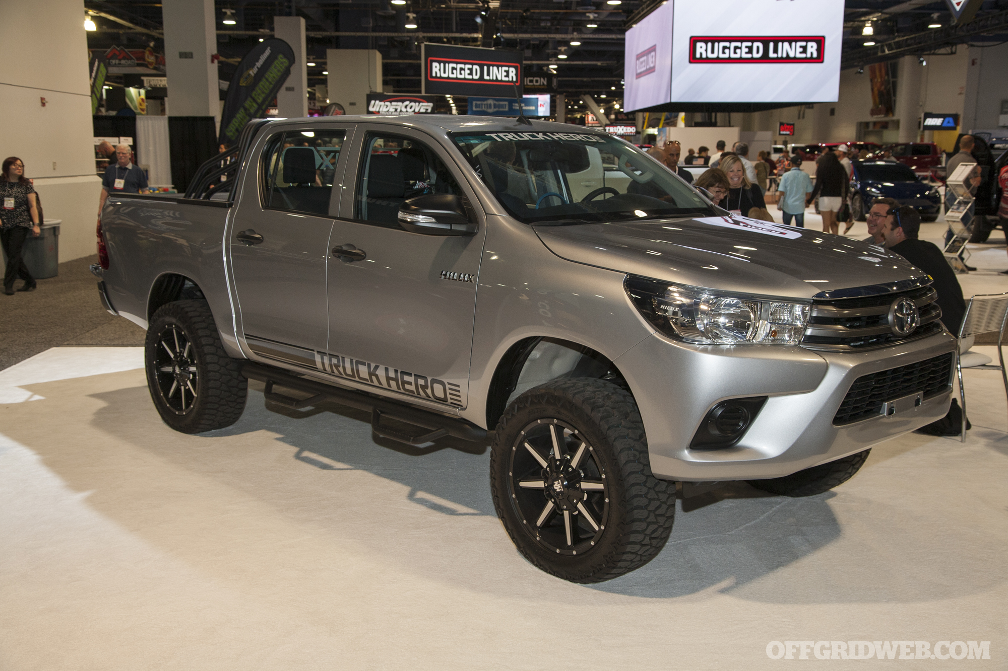 SEMA 2018 gallery Toyota trucks off road vehicles bugout survival 33