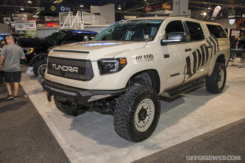 SEMA 2018 gallery Toyota trucks off road vehicles bugout survival 40