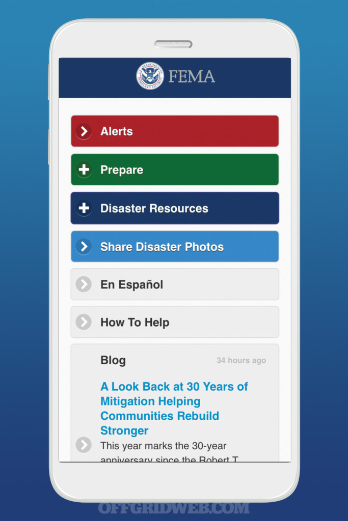 Survival smartphone cell phone emergency apps map navigation rescue tech 9