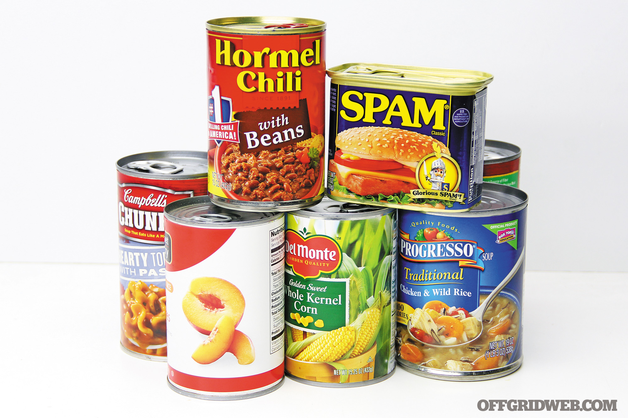Household survival supplies tools scavenging shtf prepper 7 cans food