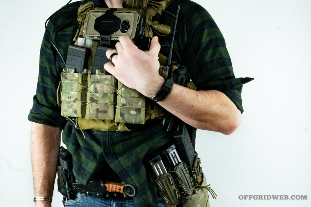 comms radio plate carrier