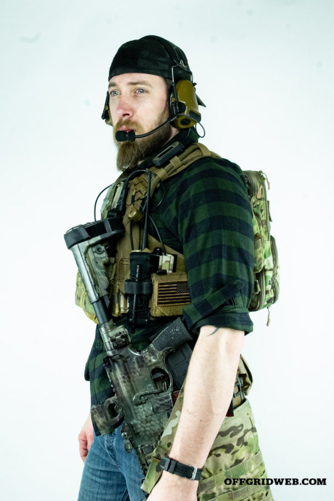 how to set up a plate carrier standing