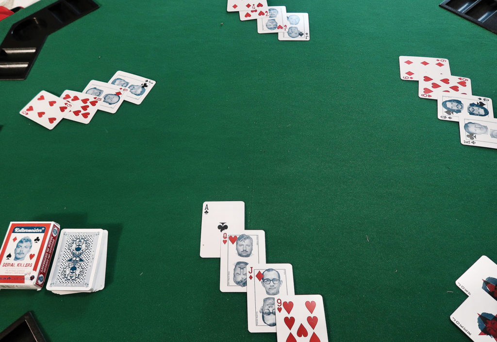 cards table